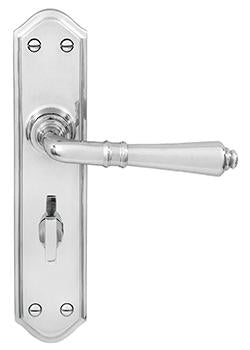 DELF ARCHITECTURAL CP LEVER LATCH FURNITURE (Privacy Set # 201 installed 