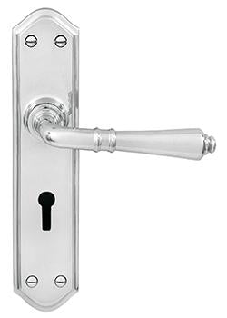 DELF ARCHITECTURAL SC   LEVER LOCK FURNITURE D9592SC