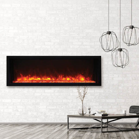 "Amantii XTRASLIM Electric Fireplace - Indoor/Outdoor 127cm (50"")"
