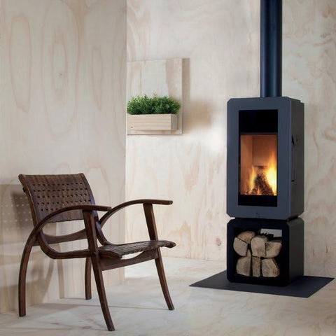 Real Flame Andor Freestanding Wood Fire