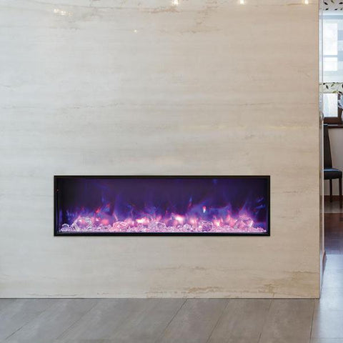 "Amantii SLIM Electric Fireplace - Indoor/Outdoor 127cm (50"")"