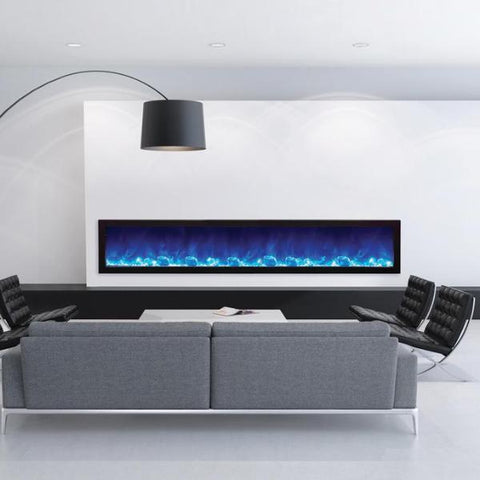 "Amantii SLIM Electric Fireplace - Indoor/Outdoor 223cm (88"")"