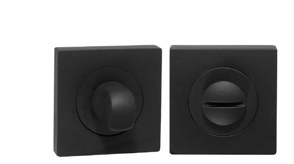 DELF ARCHITECTURAL PRIVACY ASSEMBLY SQUARE - SATIN BLACK DBZ595B