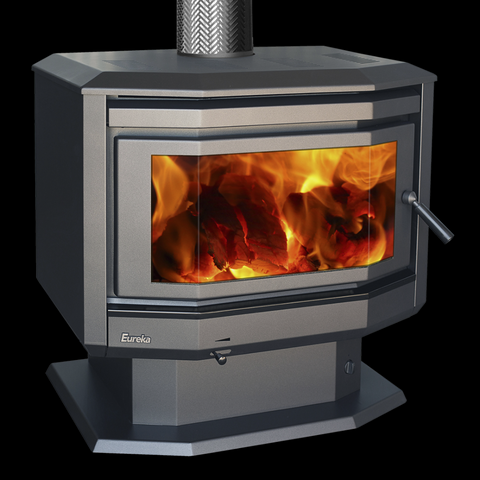 Eureka Freestanding Solitaire Wood Heater