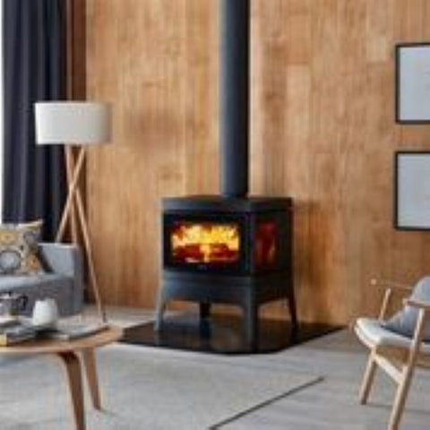 NEW Clean Air Medium Freestanding Console Wood Heater
