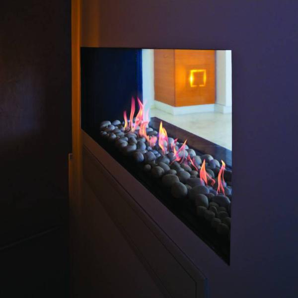 Ortal Tunnel Clear 150H Gas Fireplace
