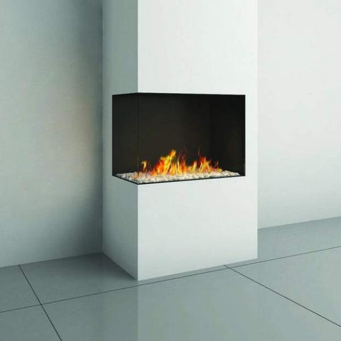 Ortal Corner Clear 75 Right/Left Side Gas Fireplace