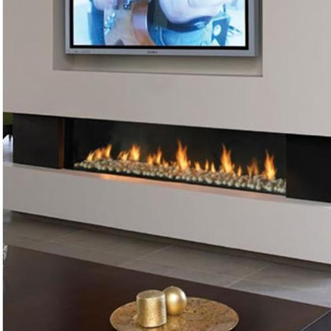 Ortal Front Facing Clear 150 Gas Fireplace