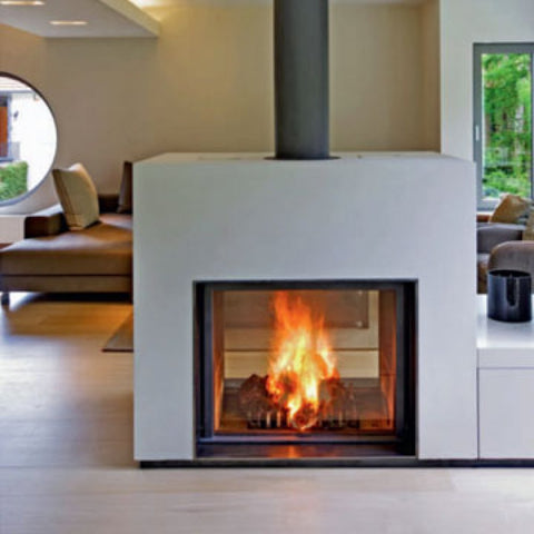 Stuv 21 Insert - European Double Sided Modern Insert Wood Heater