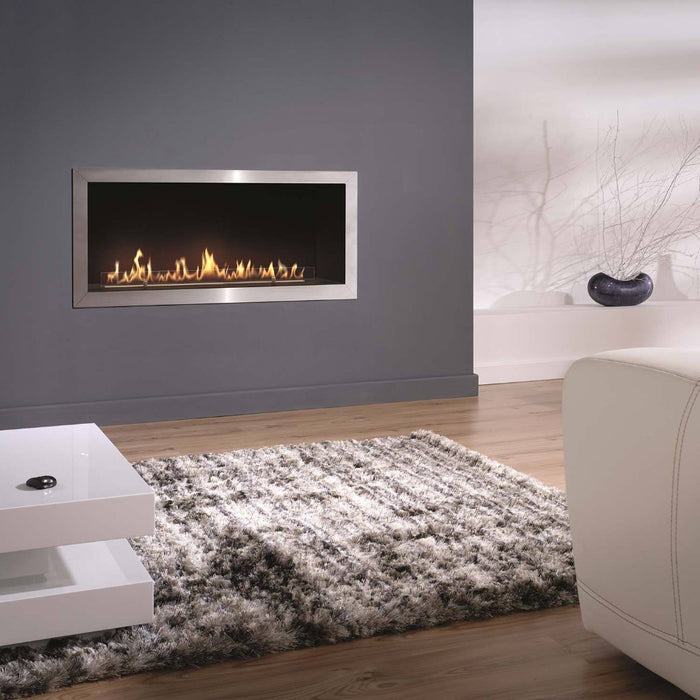 Fire Line Automatic FLA 2 model E in Casing - Long Fire Line Bio Fireplaces