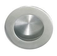DELF ARCHITECTURAL SS  CIRCULAR FLUSH PULL - CONCEALED FIX 50MM (2 PK)