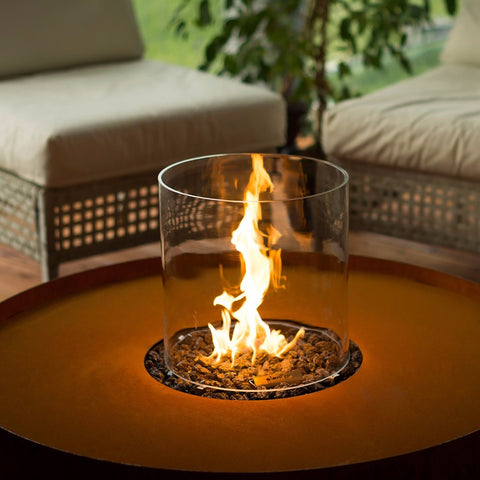 Planika Outdoor Galio Fire Pit Corten