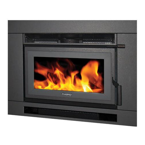 Masport I5000 - Cast Iron Inbuilt Wood Fire