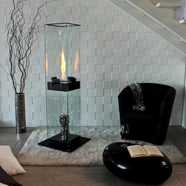 BioKamino Manhattan Floor Bio-Fireplace