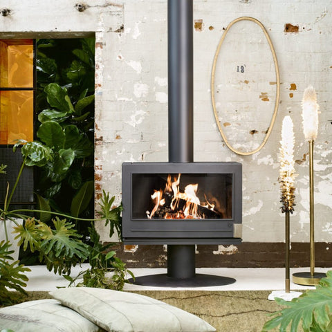 Invicta Elton Single-Sided Wood Heater
