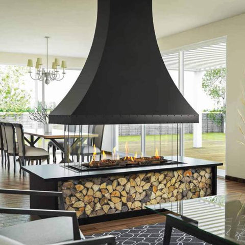 Ortal Island 130 Gas Fireplace
