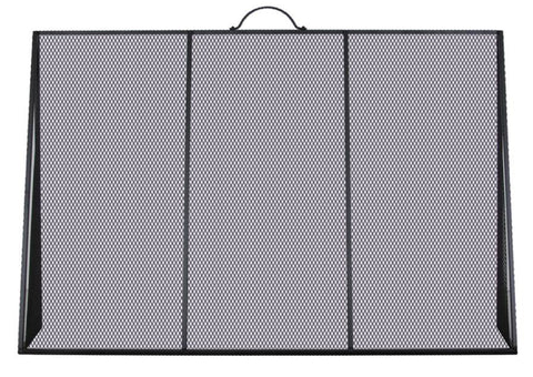 Melton Craft 3 panel layback screen H67cm x W100cm -  JC0184BK