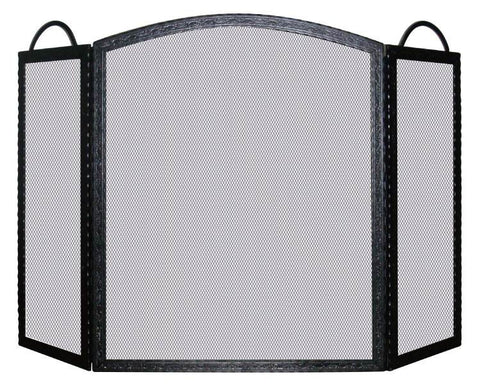 Melton Craft Birmingham screen - Nickel  H83cm x W130cm -  JC382NN