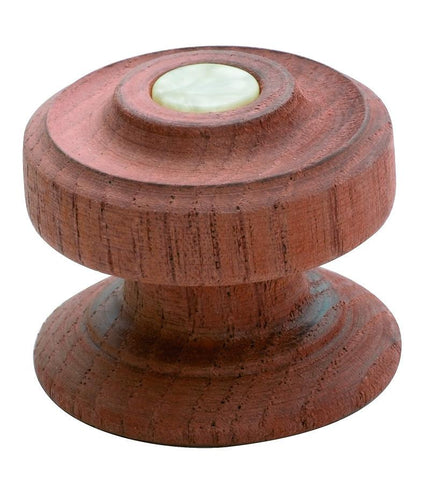 Tradco 'PINE WITH SCREW BUTTON KNOB' CEDAR KSC4 40mm