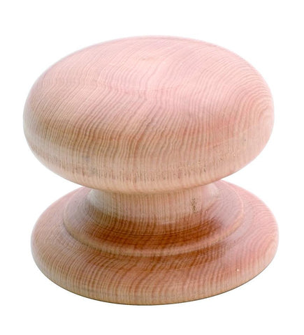 Tradco 'PINE WITH SCREW MUSHROOM KNOB' KSP2 40mm