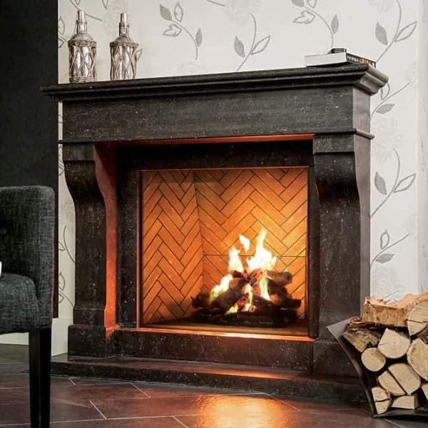 Ortal Traditional 90 Gas Fireplace