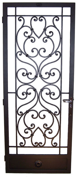 Monaco- Wrought Iron Security Door