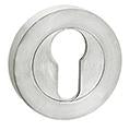 DELF ARCHITECTURAL PH CONC.FIX EURO ESCUTCHEON - PAIR