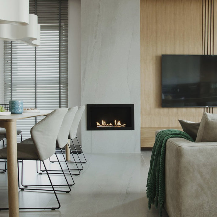PrimeFire In Casing Automatic Bioethanol Fireplace