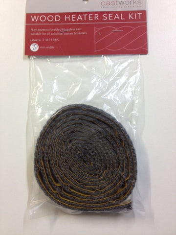 Wood Heater Glass Seal Kit 20mm x 2m