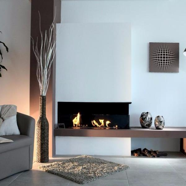 BioKamino BKBF-A Built in Bio-Fireplace