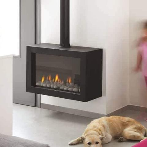 Ortal Stand Alone 75 Gas Fireplace