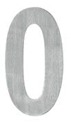 DELF ARCHITECTURAL SS POLISHED NUMERAL 65MM - 0