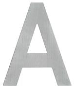 DELF ARCHITECTURAL SS POLISHED ALPHABET 65MM - A