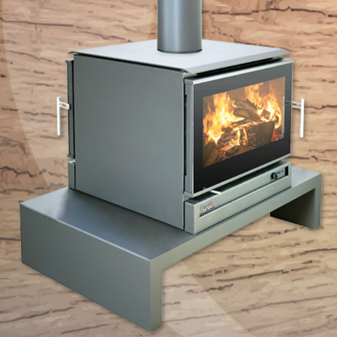 Eureka - Double Sided Jewel Module with Bench Wood Heater