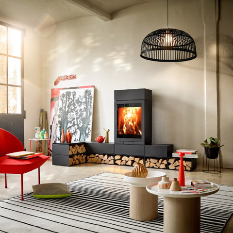 Elements 600 - World's 1st modular Wood Heater Fireplace
