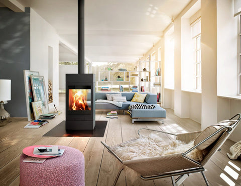 Elements 600 Tunnel - World's 1st modular Wood Heater Fireplace