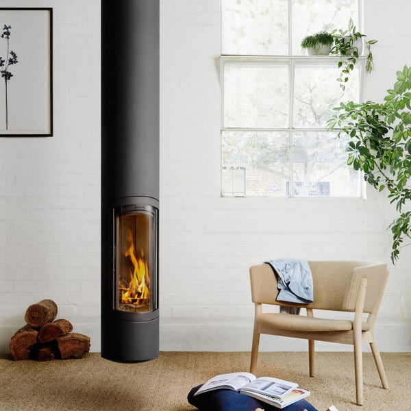 SlimFocus Rotating Suspended Fireplace