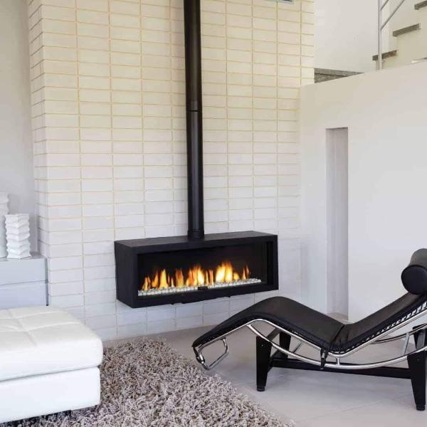 Ortal Stand Alone 110 Gas Fireplace