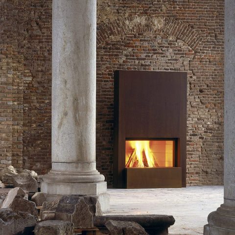 Stuv 21 Insert - European Single Sided Modern Insert Wood Heater