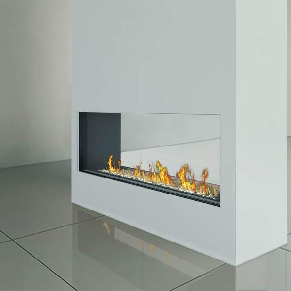 Ortal Tunnel Clear 170H Gas Fireplace