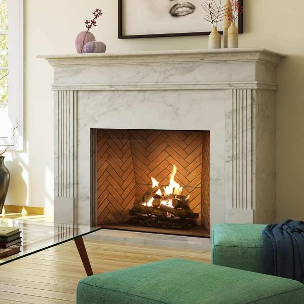 Ortal Traditional 110 Gas Fireplace