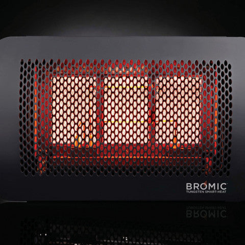 Bromic Tungsten Smart-Heat Gas Panel Heater