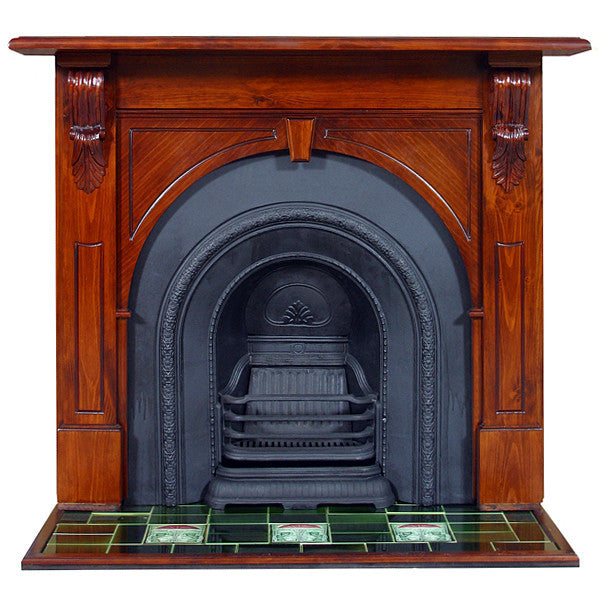 Victorian Arched Mantel