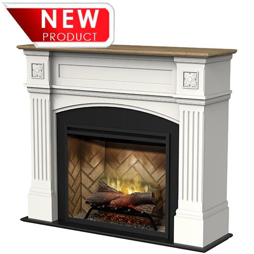 Dimplex 2kW Windlesham Mantle with 30 Inch Revillusion Electric Fireplace