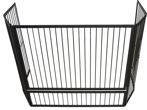 Fire Screen Child Guard Inbuilt with Gate 125cm x 30cm x 80cm -