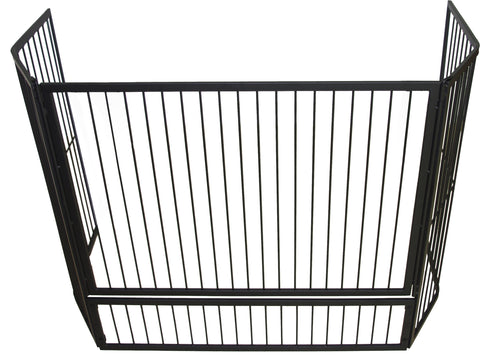 Fire Screen Child Guard Inbuilt with Gate 125cm x 30cm x 80cm -OFGTIB-2