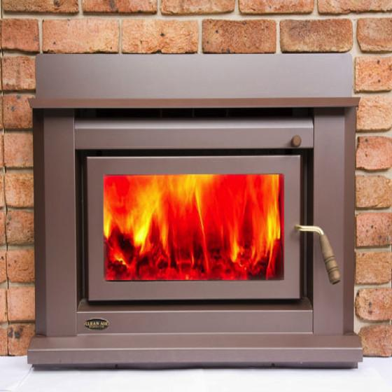 Clean Air Small Insert Masonry or Zero Clearance Wood Heater