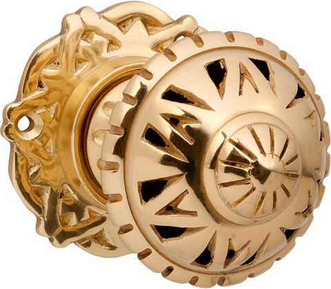 Tradco FILIGREE MORTICE KNOB PB 66mm 2215
