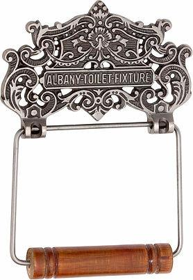 Tradco 'ALBANY TOILET ROLL HOLDER' Chrome Plate 4890