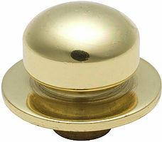 Tradco 'DIMMER KNOB' Polished Brass 5402